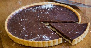 cikolatali-tart