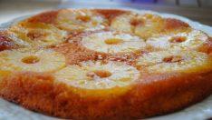 Ananaslı Alt Üst Kek Tarifi – Kek Tarifleri