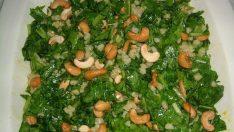 Kaju Fıstıklı Kahvaltı Salatası Tarifi – Salata Tarifleri