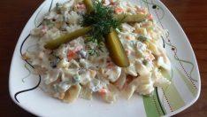 Makarna Salatası Tarifi 1 – Salata Tarifleri