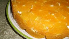 Portakallı Pasta Tarifi – Pasta Tarifleri