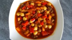 Sebzeli ve Kıymalı Nohut Yemeği Tarifi – Ana Yemek Tarifleri