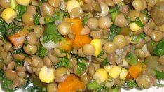 Yeşil Mercimekli Salata Tarifi – Salata Tarifleri