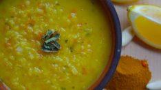Pirinçli Sarı Mercimek Çorbası Tarifi – Çorba Tarifleri