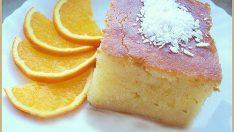 Portakallı Revani Tarifi – Şerbetli Tatlı Tarifleri