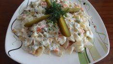 Yoğurtlu Makarna Salatası Tarifi – Salata Tarifleri