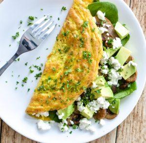 ispanakli-omlet