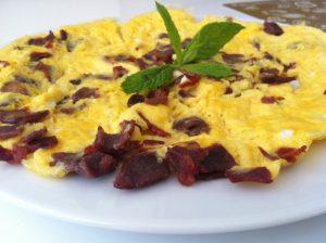 pastirmali-omlet