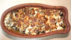 Kiremitte Mantar Tarifi – Sebze Yemekleri