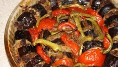 Sebzeli Kıyma Kebabı Tarifi – Sebze Yemekleri