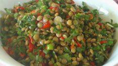 Yeşil Mercimek Salatası Tarifi – Salata Tarifleri