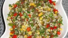Kuskuslu Mercimek Salatası Tarifi – Salata Tarifleri