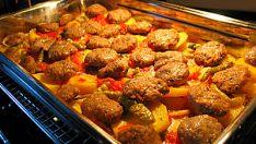 Fırında Patatesli Köfte Tarifi – Ana Yemek Tarifleri