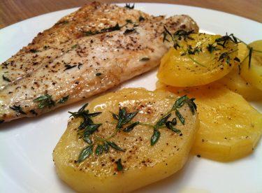 Fırında Patatesli Palamut Tarifi – Balık Tarifleri