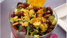 Meksika Fasulyeli Salata Tarifi – Salata Tarifleri