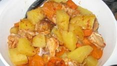 Patatesli Tavuk Yemeği Tarifi – Tavuklu Tarifler
