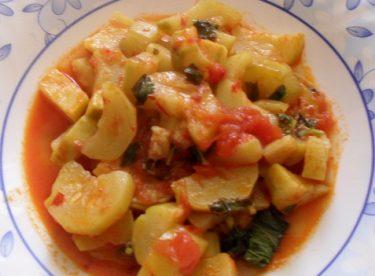 Zeytinyağlı Kabak Yemeği Tarifi – Sebze Yemekleri