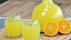 1 Portakal 1 Limon ile Limonta Tarifi