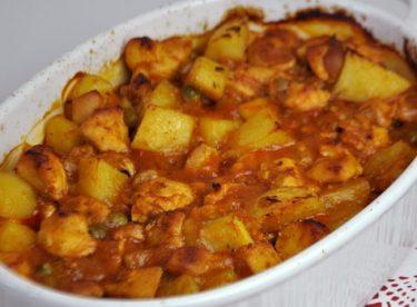 Fırında Sebzeli Tavuk Yemeği Tarifi
