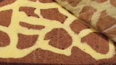 İlginç Zürafa Desenli Rulo Pasta Tarifi