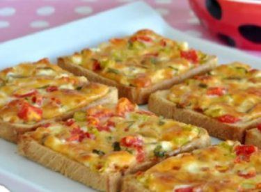 Kahvaltılık Peynirli Kızarmış Ekmek Tarifi
