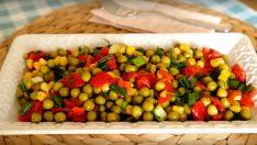 Kolay Bezelye Salatası Tarifi