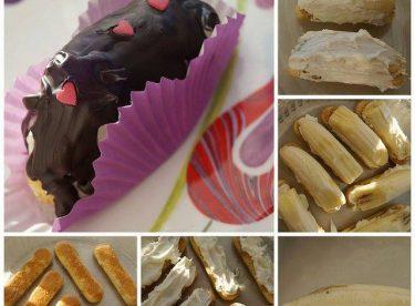Çikolatalı Muzlu Kedidili Ekler Pasta Tarifi